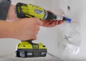 Asbestos sample retrieval from drywall