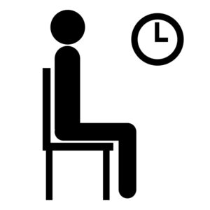 Person waiting