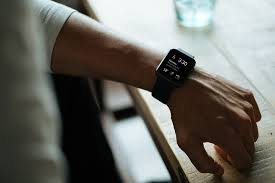 person with wristwatch