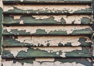 chipping lead paint