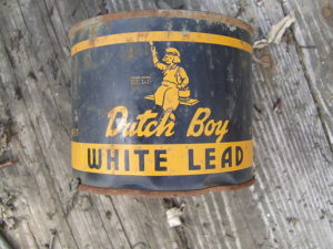 Can of lead paint